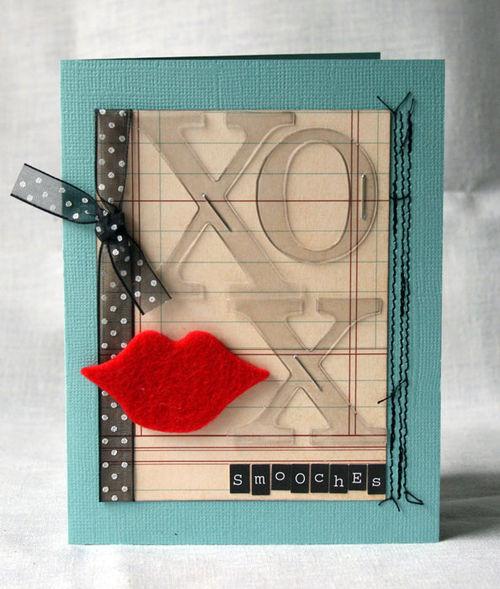 Smooches-card