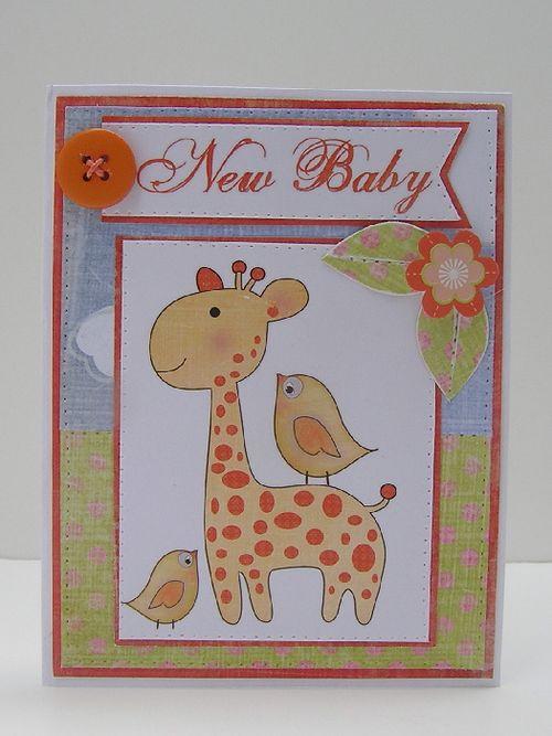 Vicki New Baby Card