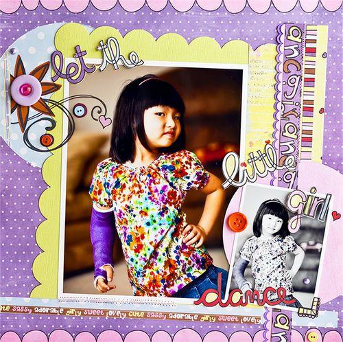 Liana Let the little girl dance
