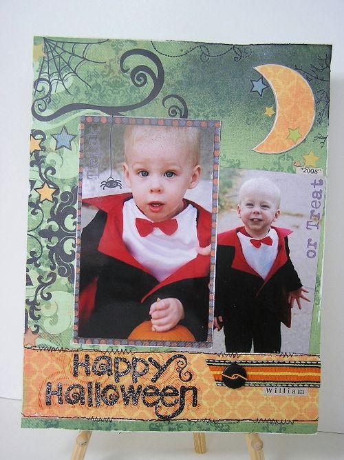 Happy Halloween layout