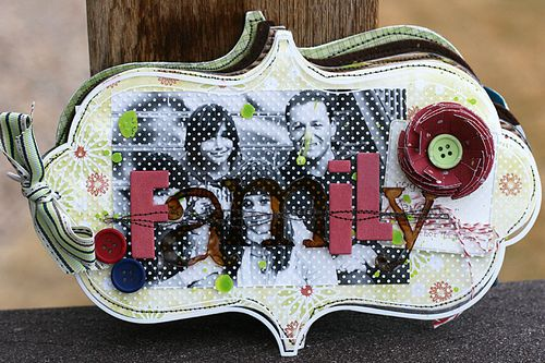 Ronda Family Mixed Media Album Cover