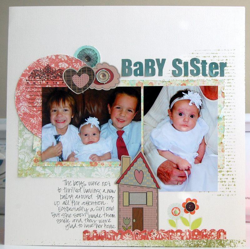 Brenda baby sister