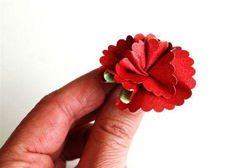 Flowers step 5