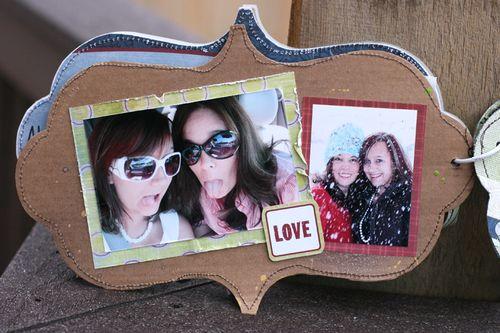 Ronda Family Mixed Media Album pg 4