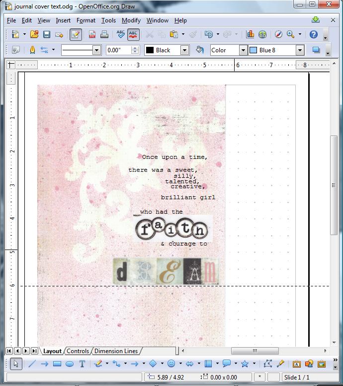 Journal screen shot