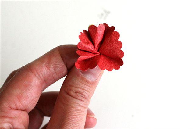 Flowers step 4