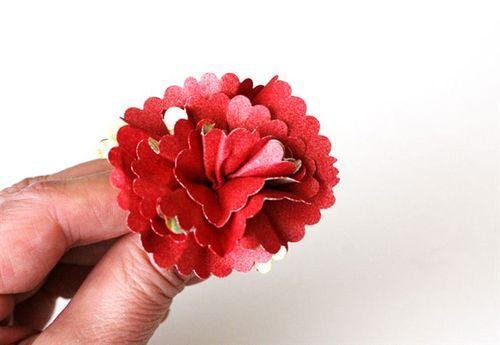 Flowers step 6