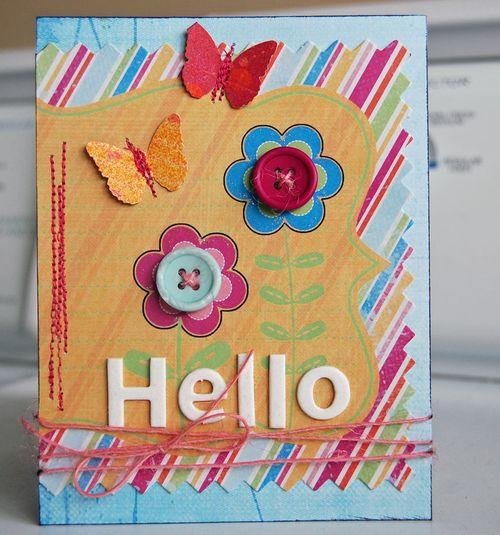 Brenda HELLO-card