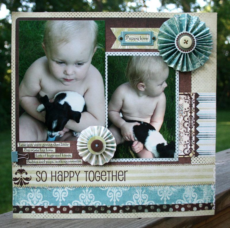 Vicki Happy Together layout
