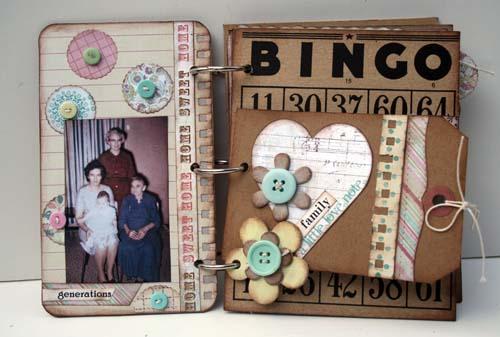 Family memories album p1