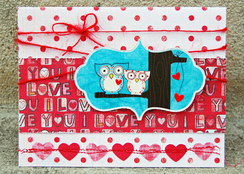 Brenda love-birds-card