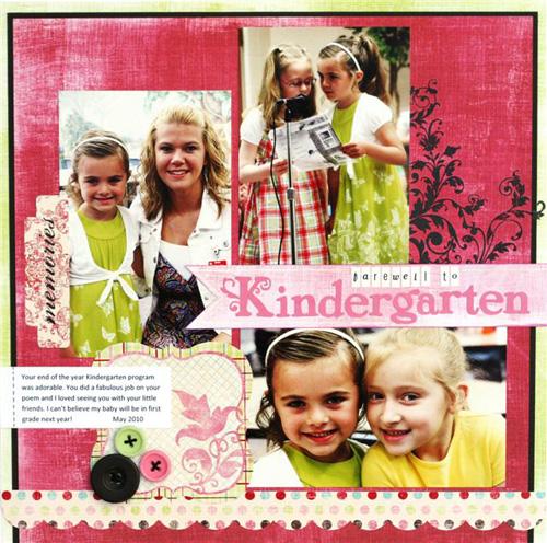 Greta farewell to Kindergarten