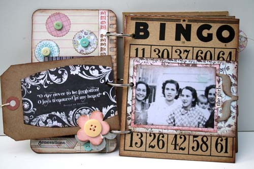 Family memories album p6