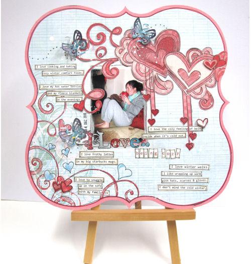 I Love...(Lisa Saunders Designer Spotlight 21 Dec)