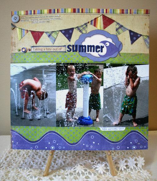 Vicki Summer layout CHA2011