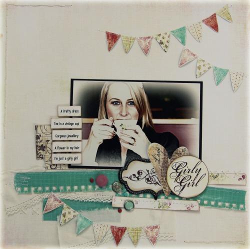 Rachel Tucker - Designer spotlight layout