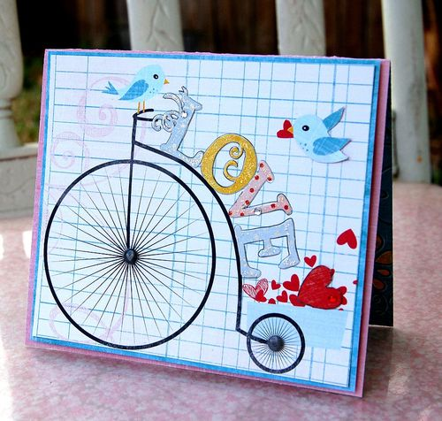 CharityJ love bike card