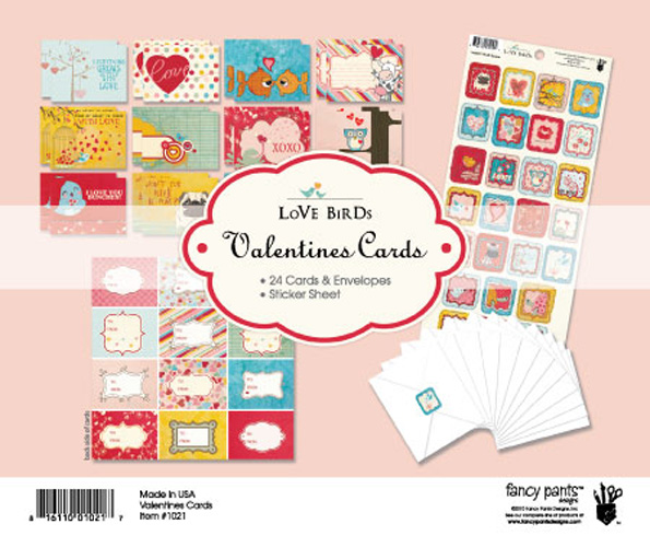 LB Valentines Cards