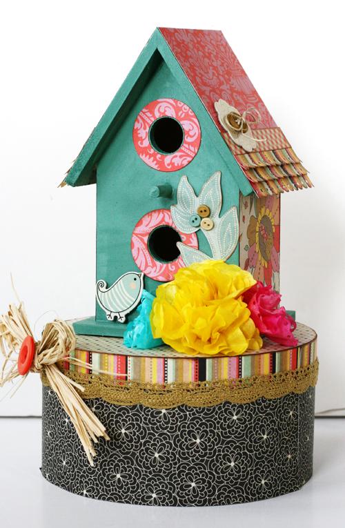 Greta Hammond little things birdhouse 1