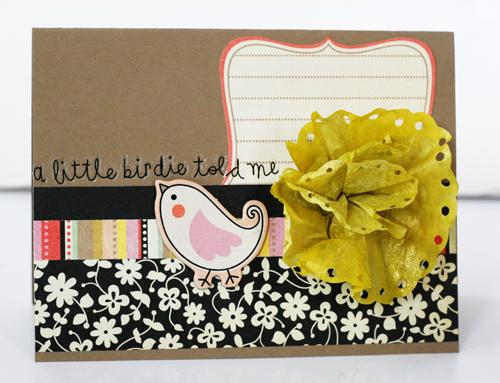 Greta Hammond bird told me card