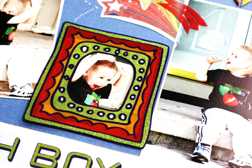 Greta Hammond oh boy layout 2