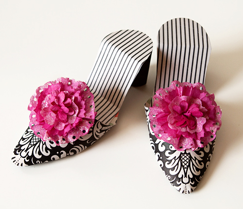 Shoes Fancy Pants pink black