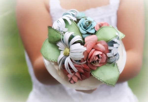 Baby Mine flower posy - Rachel Tucker