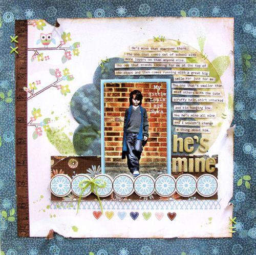 Lisa Saunders - Babymine Spotlight 9th June 'He's Mine'