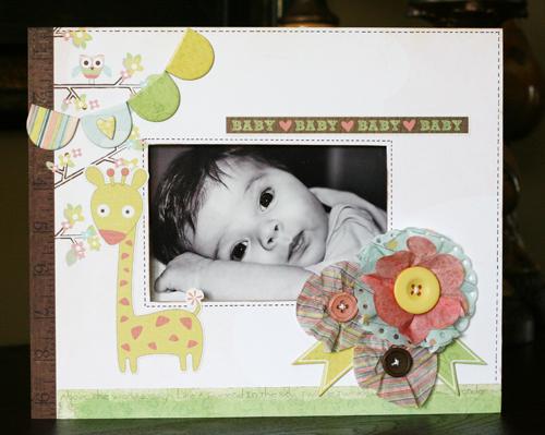 Greta Hammond baby mine frame 1