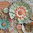 Paper Fringe Flowers