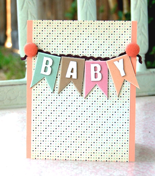 Charity- baby banner card