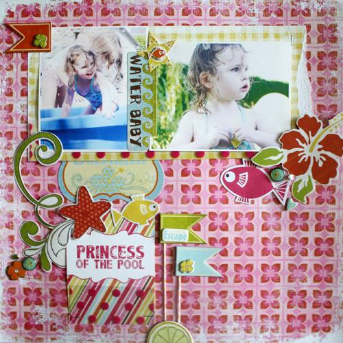 Benedicte Raphalen- Princess of the pool
