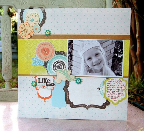 Charity-live laugh love layout