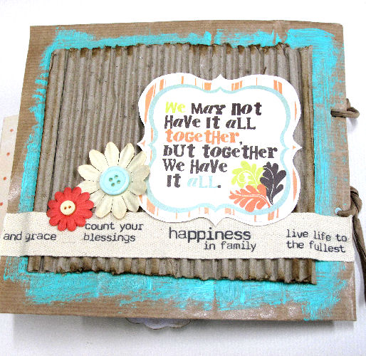 Lisa Saunders - Mini Book Back