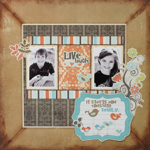 Greta Hammond family layout