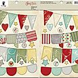 Saint Nick Chipboard Banners