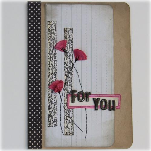 Rachel Tucker - card for you April11