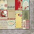 Saint Nick Cards patterned paper