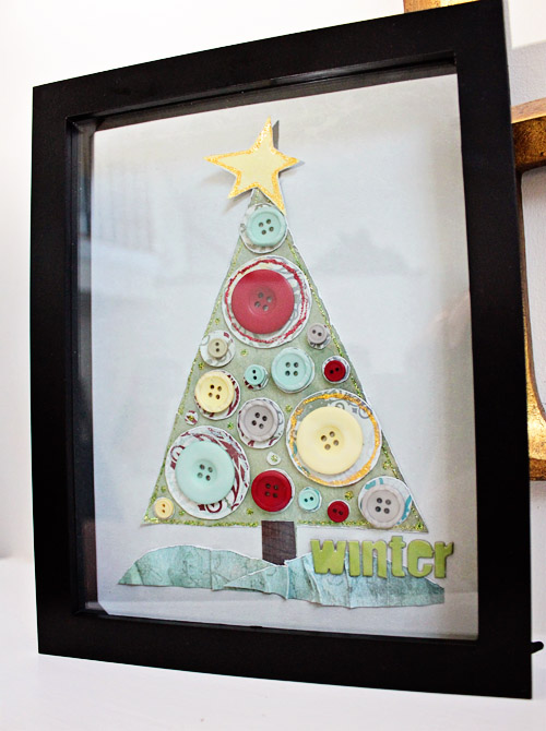 TheSeasonal TreesbyTrish Harwickwas done using the St. Nick buttons
