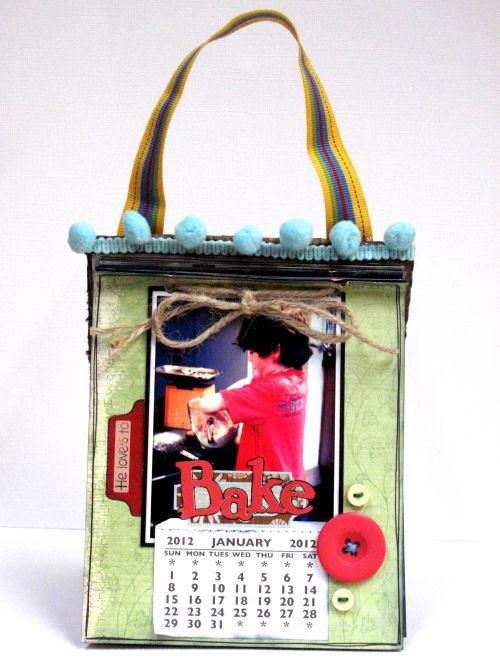 Lisa Saunders 2012 Calendar