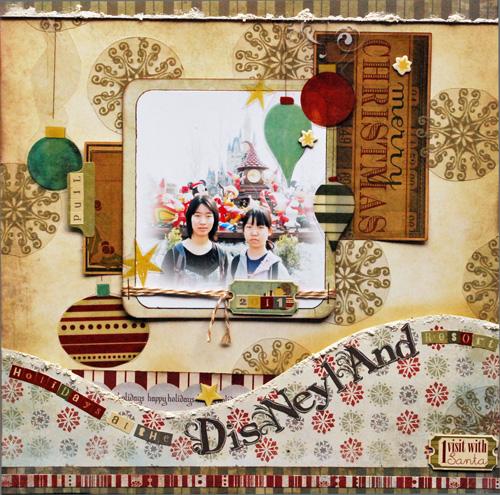 Yukishimada_Holidays at the Disneyland resort