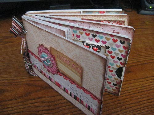 Miss Fancy Pants DesignsFancy ThisEnvelope Mini Album