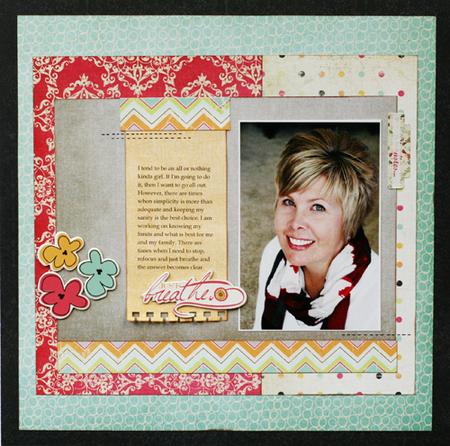Greta Hammond just breathe layout