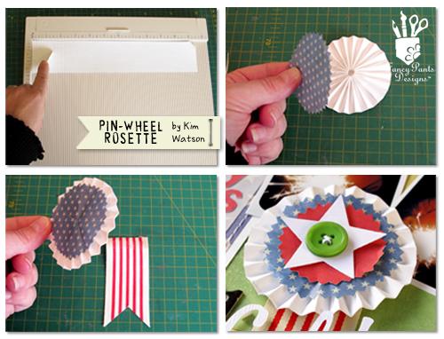 Kim watson+Pinwheel rosette