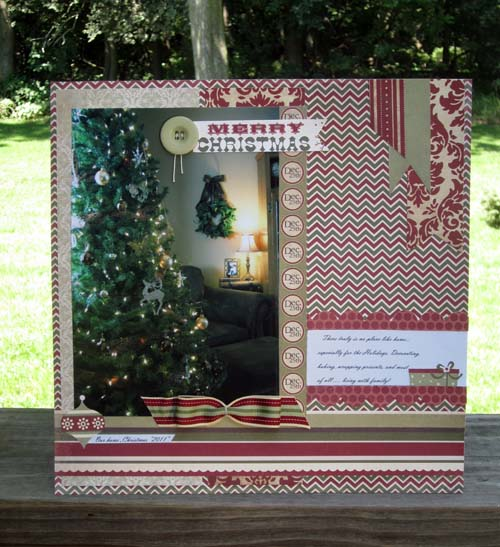 Home for Christmas layout
