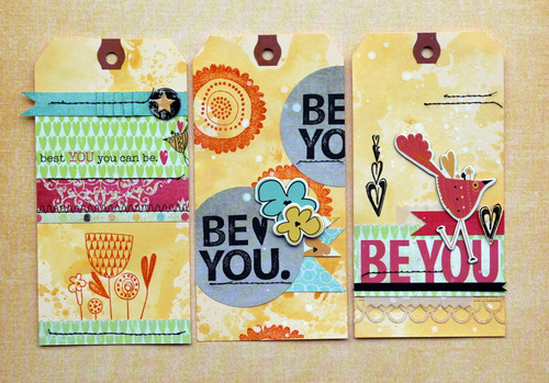 Piradee Talvanna - Be You Stamp Tags2