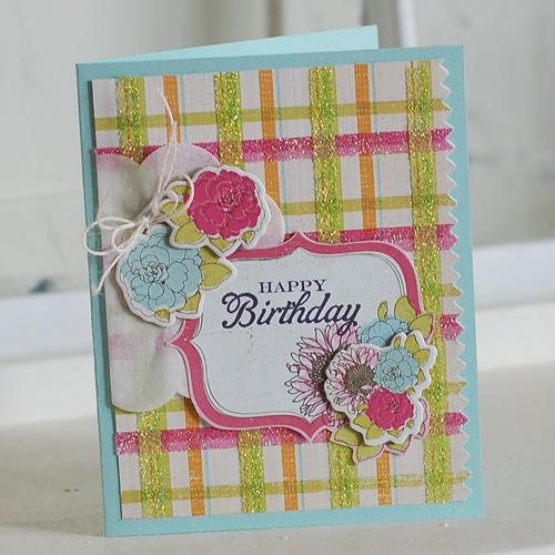 Glitter-Plaid-Birthday