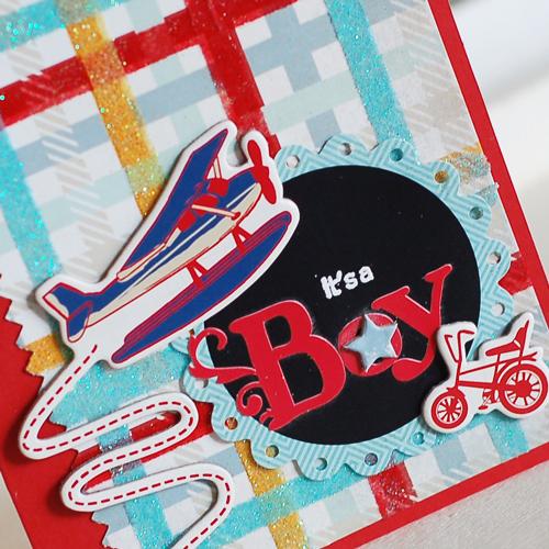 Glitter-Plaid-Baby-Card-dtl