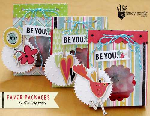 Kim Watson+ Finished favor packages+ FP