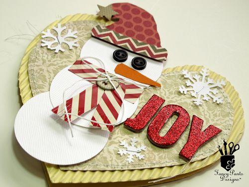 Kim Watson+Snowman card+Step#11